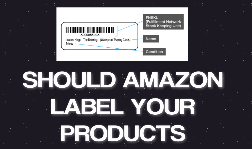 Should you let Amazon label your products?