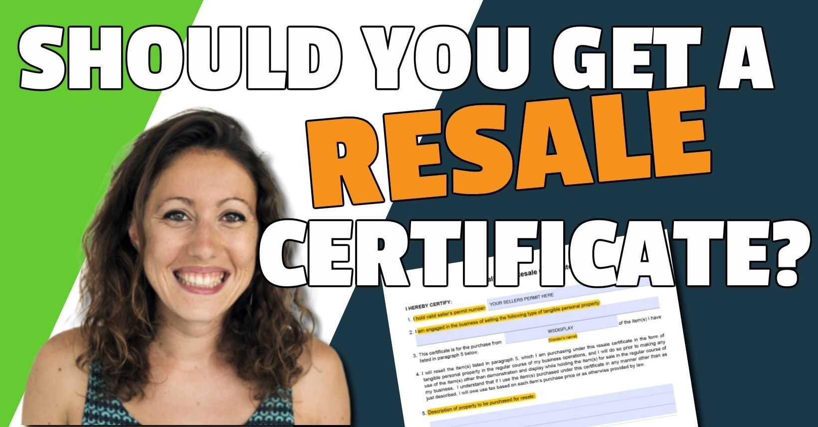 California Resale Certificate: Complete Guide for Amazon Sellers
