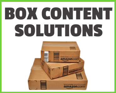 Amazon FBA Box Content Guide and Solution