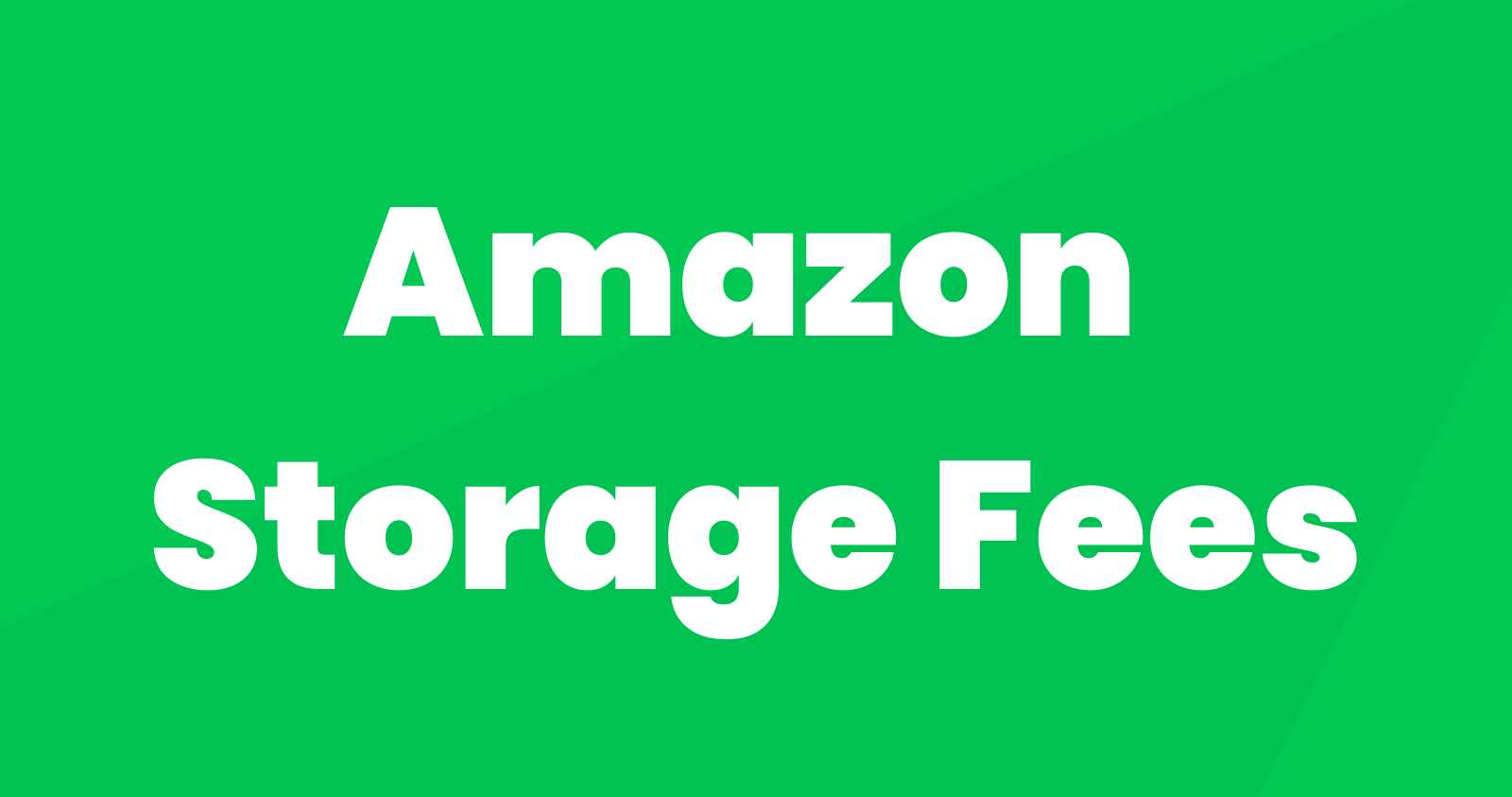 Amazon Storage Fees: How Much Are They (and How Can You Avoid Them)?