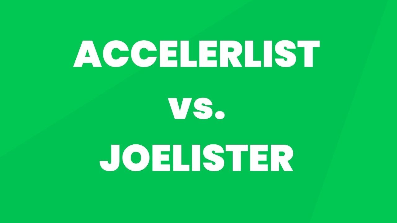AccelerList vs. JoeLister: More listings for your money