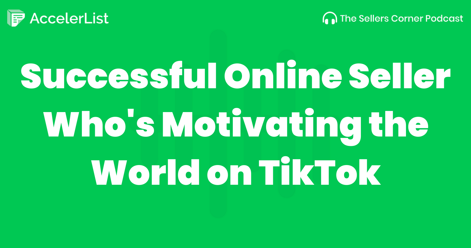 Successful Online Seller Who's Motivating the World on TikTok